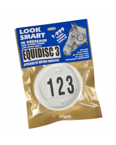 Equidisc Bridle Number Holder