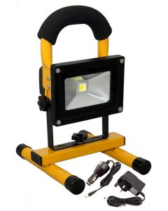 Clulite FL12 10W Cordless LED Rechargeable Floodlight