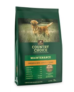 Gelert Country Choice Maintenance Chicken & Rice Dog Food 12kg