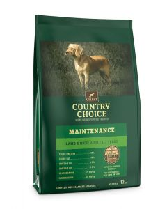 Gelert Country Choice Maintenance Lamb & Rice Dog Food 12kg