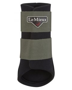 LeMieux Grafter Brushing Boots Olive