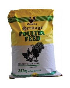 H J Lea Oakes Turkey Rearer/Finisher Pellets 25kg
