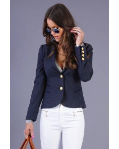 Holland Cooper Ladies Sporting Jacket Navy Duke