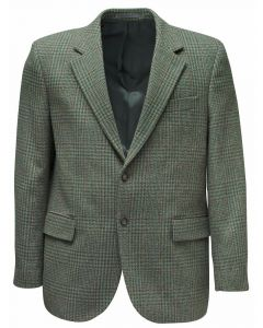 Hoggs of Fife Invergarry Tweed Sports Jacket Moss Green - Cheshire, UK