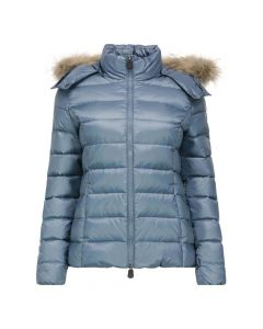JOTT Ladies Luxe Down Jacket Blue Jeans