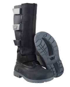 Woof Wear Junior Long Yard Boot Black
