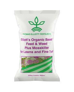 Thomas Elliott Fertilisers Organic Weed, Feed and Moss Killer 20kg
