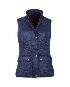 Barbour Ladies Wray Quilt Gilet Navy