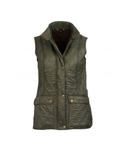 Barbour Ladies Wray Quilt Gilet Olive