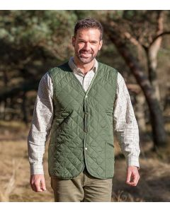 Hoggs of Fife Lightweight Quilted Waistcoat