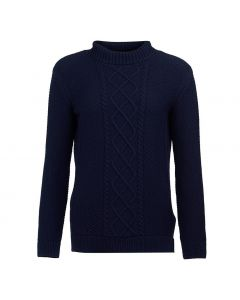 Barbour Ladies Leith Roll Neck Sweater Navy