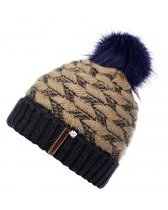 LeMieux Ladies Banff Pom Pom Beanie Hat Navy