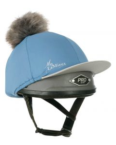 LeMieux Pom Pom Hat Silk Ice Blue