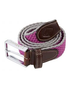 LeMieux Aspen Belt Plum/Grey
