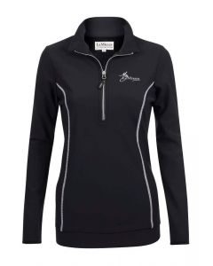 LeMieux Ladies Madrisa Fleece Top Black