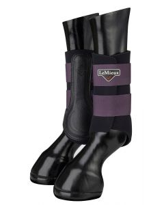 LeMieux Grafter Brushing Boots Blackcurrant