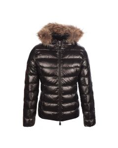 JOTT Ladies Luxe Gloss Down Jacket Black