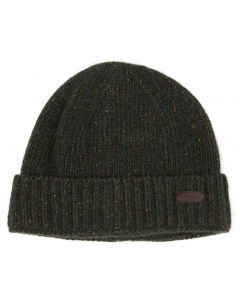 Barbour Mens Lynton Beanie Hat Olive - Cheshire, UK