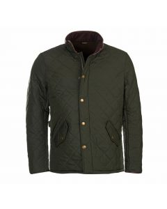 Barbour Mens Powell Quilted Jacket Sage