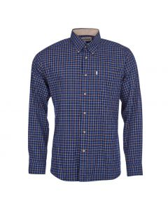 Barbour Mens Bank Shirt Navy