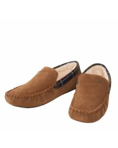 Barbour Mens Monty Slippers Camel - Cheshire, UK