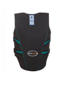 Airowear Childs Outlyne Body Protector Black / Turquoise