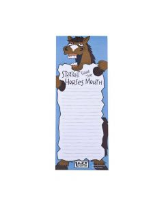 LazyOne Magnetic Notepad Straight From The Horse's Mouth