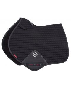 LeMieux ProSport Close Contact Cotton Square Saddle Pad Black