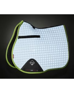 LeMieux ProSport Hi Viz GP Square Saddle Pad Lime