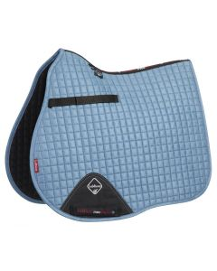LeMieux ProSport GP Suede Square Saddle Pad Ice Blue