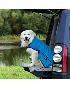 Horseware Rambo Dog Dry Rug Blue/Black/White
