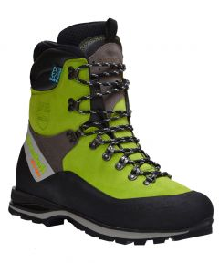 Arbortec Scafell Lite Class 2 Chainsaw Boots Lime Green