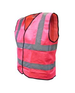 Scan Safety High Visibility Vest Pink