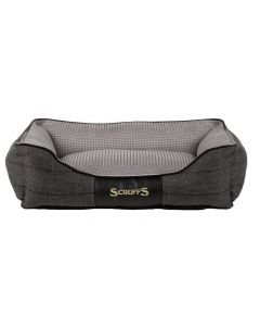 Scruffs Windsor Box Dog Bed Charcoal