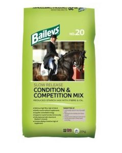 Baileys No. 20 Slow Release Condition & Competition Mix 20kg Horse Feed