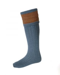 House of Cheviot Tayside Blue Mix Socks