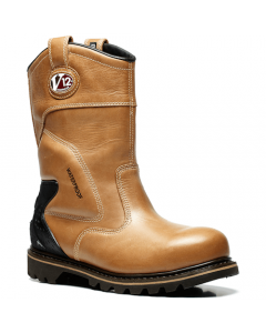 V12 Tomahawk Vintage Waterproof Safety Rigger Boots
