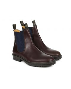 Fairfax & Favor Mens Trafalgar Leather Chelsea Boots Mahogany