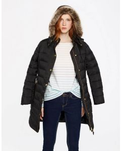 Joules Ladies Caldecott Padded Coat Black