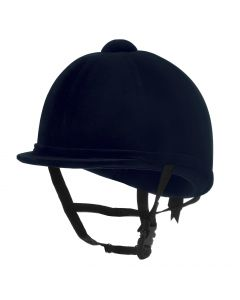 Charles Owen Young Riders Riding Hat Navy