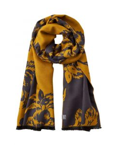 Joules Ladies Jacquelyn Scarf Winter Camellia