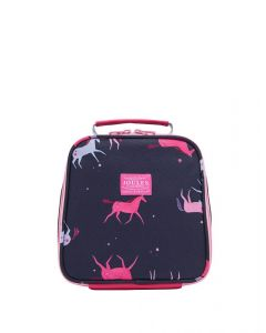 Joules Junior Munchbag Printed Lunch Bag Navy Magical Unicorn