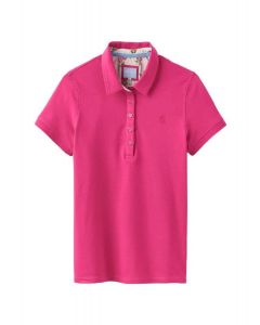 Joules Ladies Pippa Polo Shirt Raspberry