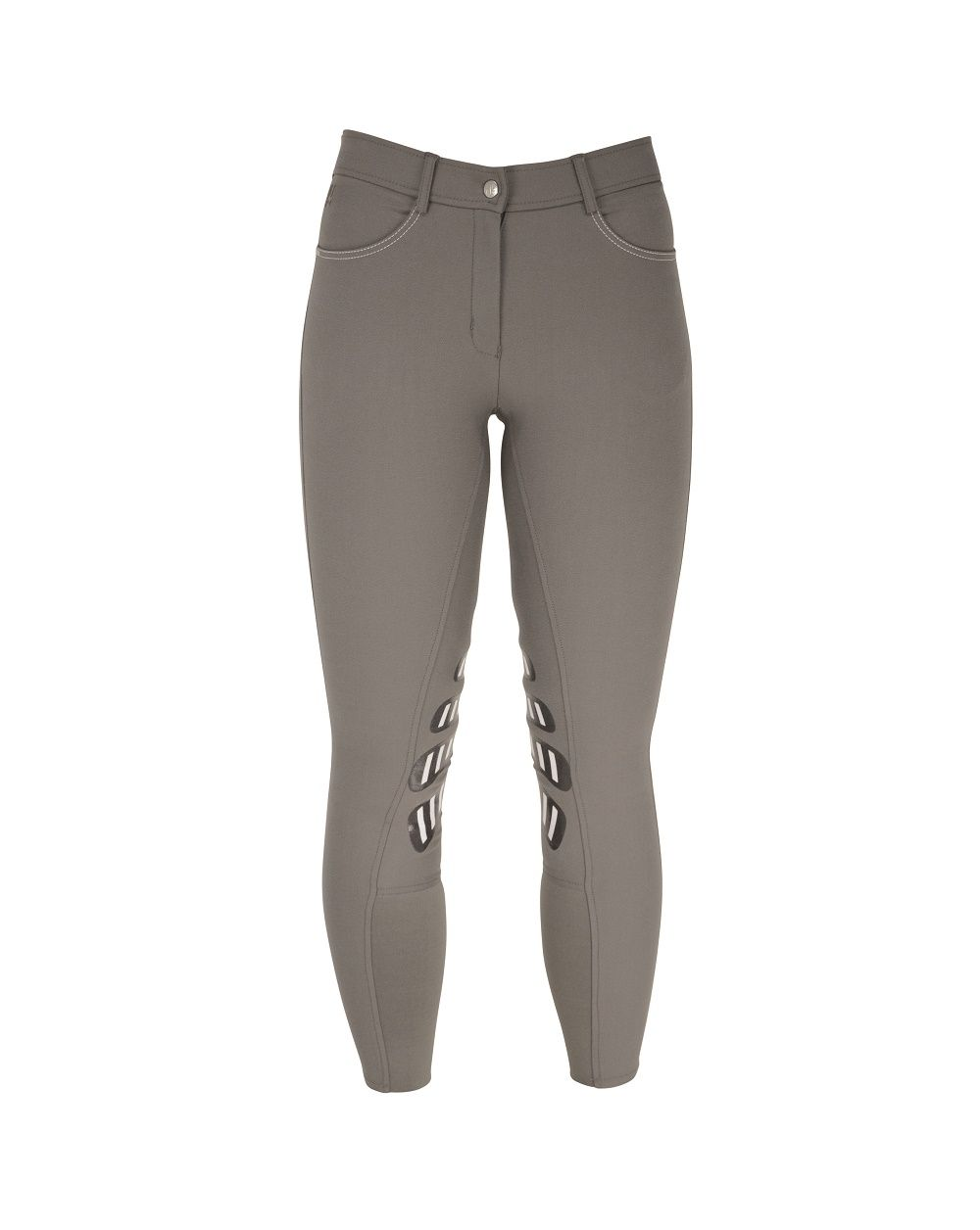 Hy Equestrian Hyperformance Ladies Selby Cool Breeches Grey