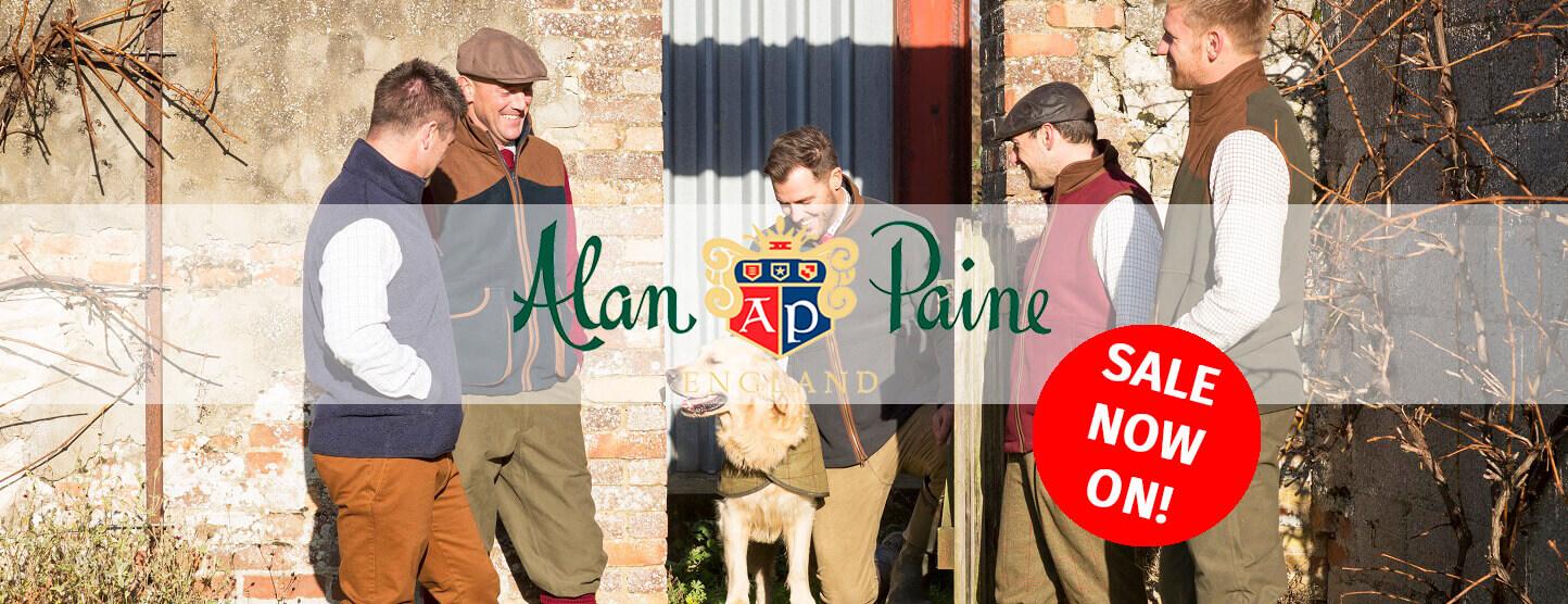 Alan Paine Sale